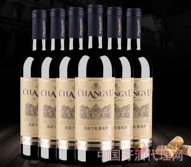 張裕金標干紅葡萄酒整箱裝750ml×6瓶
