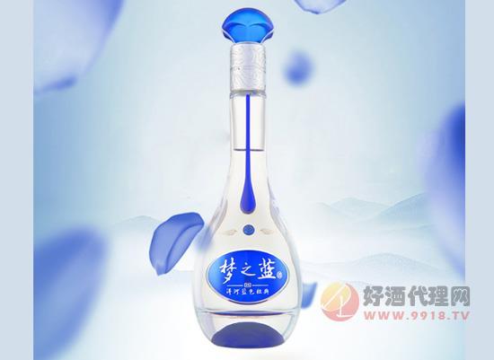 洋河夢之藍M3 40.8度 單瓶裝和箱裝價格表