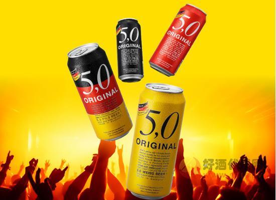 德国进口奥丁格自然浑浊型小麦白啤酒500ml