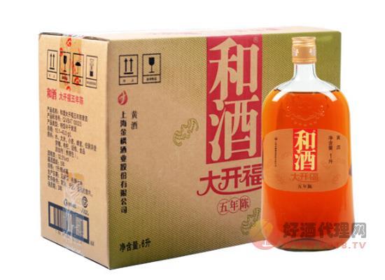和酒多少錢一瓶?上海和酒五年陳釀價格