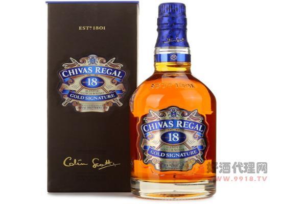 蘇格蘭洋酒威士忌 芝華士18年價格