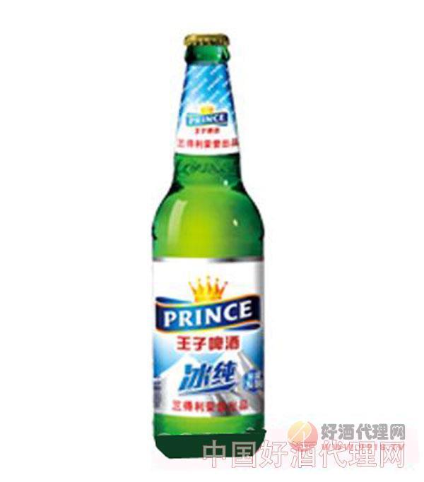 王子啤酒冰纯8度-528ml瓶装