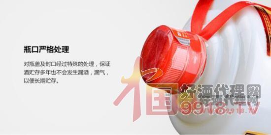 38度茅臺貴州囍酒(2003-2004年)產品細節