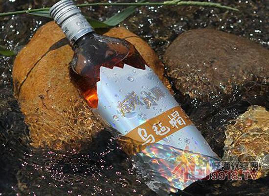 烏氈帽凍藏冰雕清爽型半干黃酒