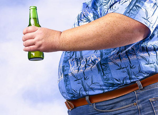 啤酒肚一定是喝啤酒喝出来的吗?啤酒肚形成原因介绍