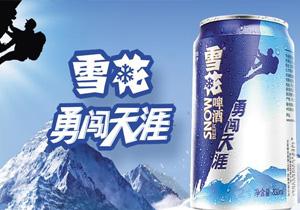 雪花啤酒勇闯天涯330ml