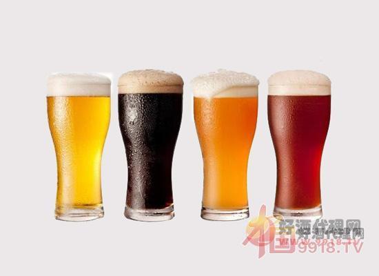 黄啤、黑啤和白啤