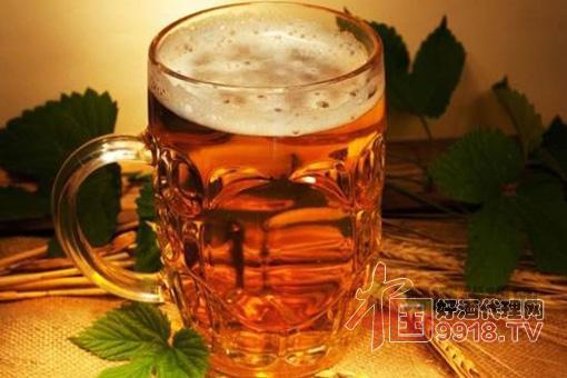 啤酒细节图片