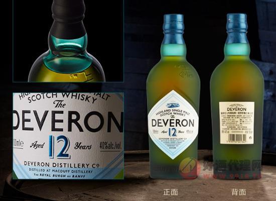 德弗伦单一麦芽威士忌12年贵吗?玩洋酒轻奢范儿