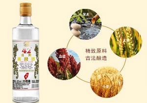 42度浓香型台湾高粱酒3N窖藏