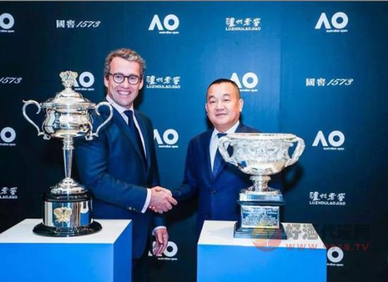 泸州老窖与澳州网球公开赛签约,进一步加快白酒国际化步伐
