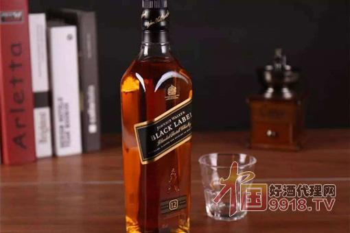 尊尼获加黑牌威士忌