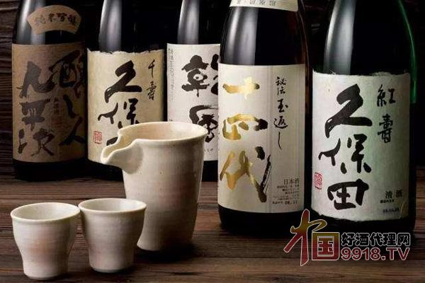 日本清酒品牌