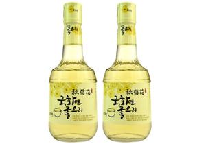 韩国秋菊花酒
