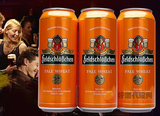 小资聚会来点进口啤酒 2018费尔德堡白啤酒整箱装价格