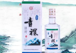 青海互助白盒青稞酒48度460ml
