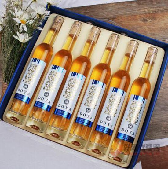 高顏值進口冰酒美爆了 加拿大冰酒DOYA禮盒裝價格貴嗎?