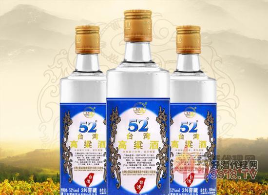 52度五緣灣臺灣高粱酒