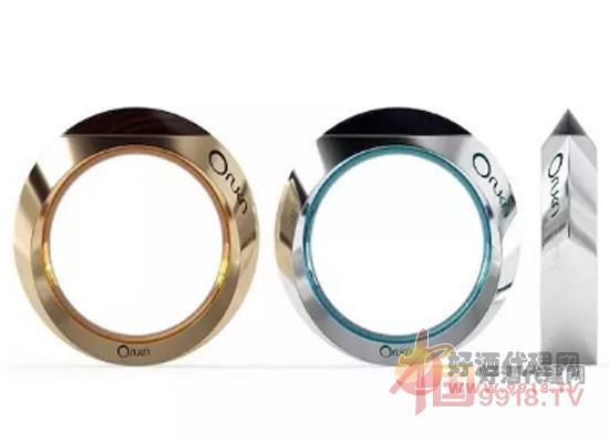 一金一银的圆环创意开瓶器