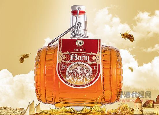 大桶装橡木桶造型萌化了!立宛淘进口蜂蜜酒1L装价格贵吗?