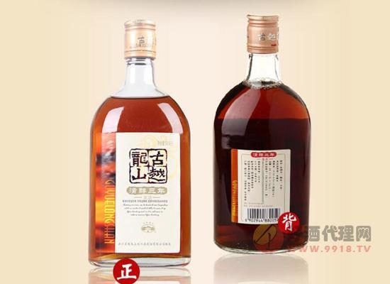 古越龍山三年陳花雕酒價格實惠,還能泡阿膠