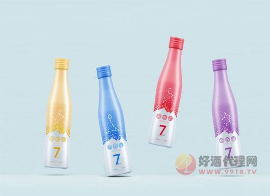 一箱混搭4种口味,第七元素鸡尾酒 170ml*12价格一览