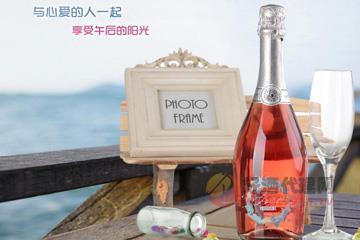 意大利原瓶进口红酒 朱丽叶桃红起泡酒