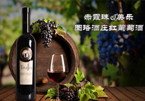 珞酒庄卡迪纳尔赤霞珠&美乐干红葡萄酒