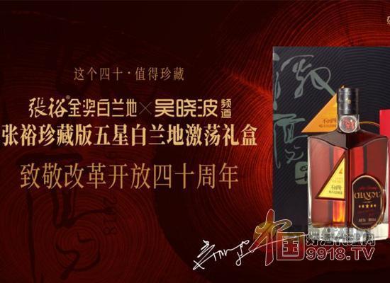 张裕珍藏版五星白兰地激荡礼盒