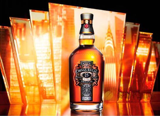 芝华士25年洋酒多少钱一瓶?骑士风范,轻奢之选