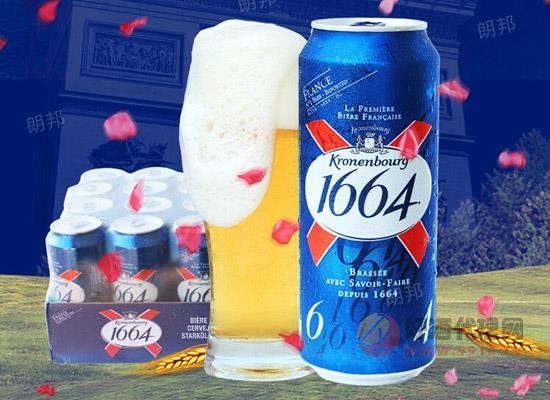 法国啤酒多少钱一瓶?拉格1664啤酒价格贵吗