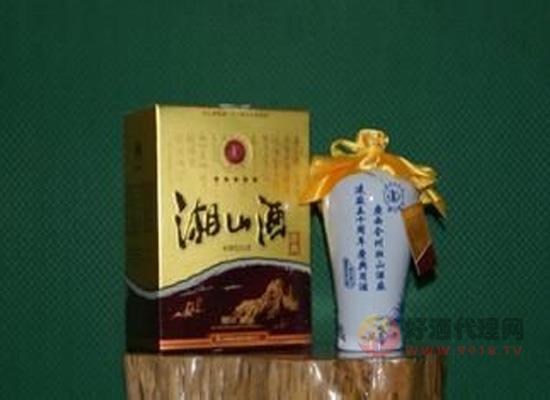 一款展现当地文化的酒——湘山酒