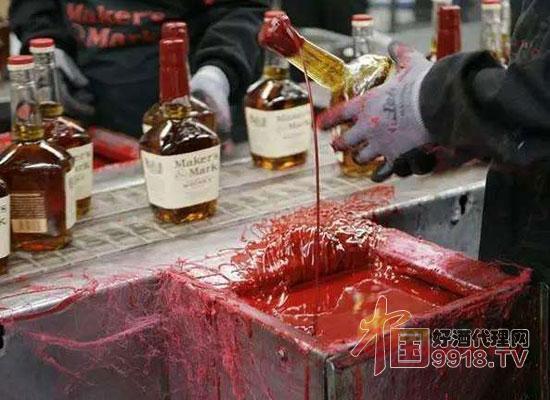 蜡封葡萄酒