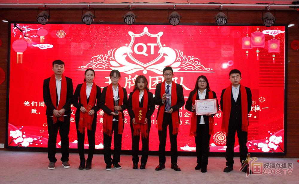 青天科技集團2018年度王牌團隊