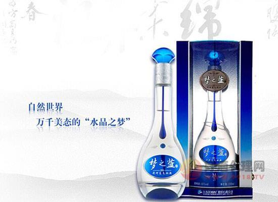夢之藍m3多少錢一瓶?洋河夢之藍m3價格40.8度