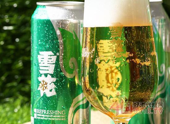 雪花清爽啤酒