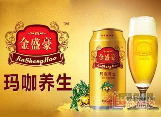 金盛豪玛卡养生啤酒