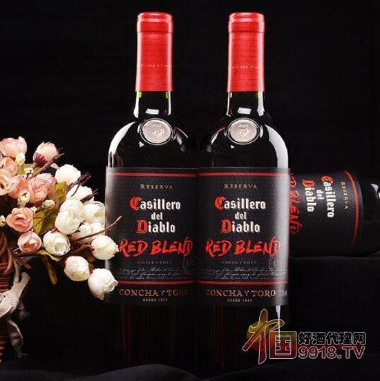 智利红酒 红魔鬼