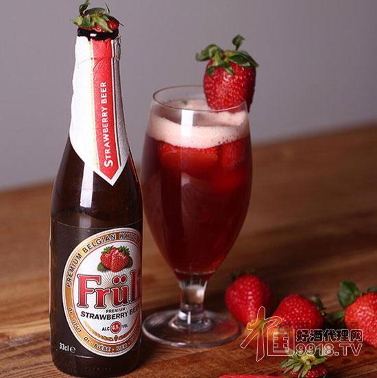 芙力草莓酒