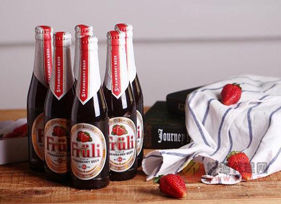 草莓酒多少錢一瓶?比利時精釀芙力草莓啤酒價格