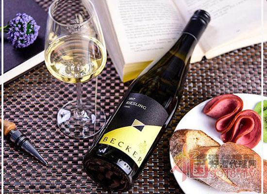 雷司令萊茵黑森產區QbA2017年半干型白葡萄酒
