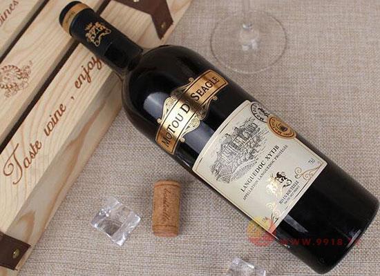 貼牌紅酒一般多少錢?法國尼姆干紅貼牌葡萄酒價格