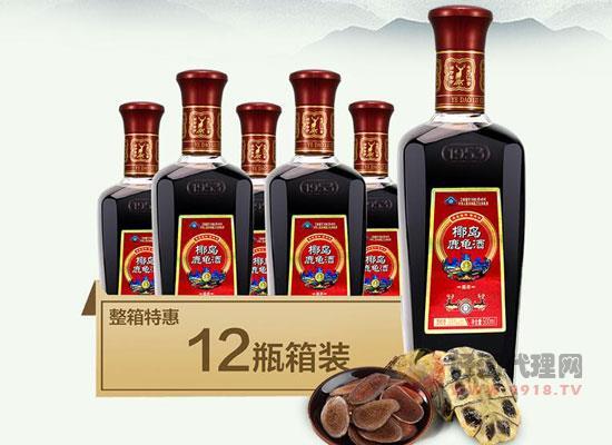 鹿龟酒500ml多少钱一瓶?椰岛鹿龟酒500ml价格