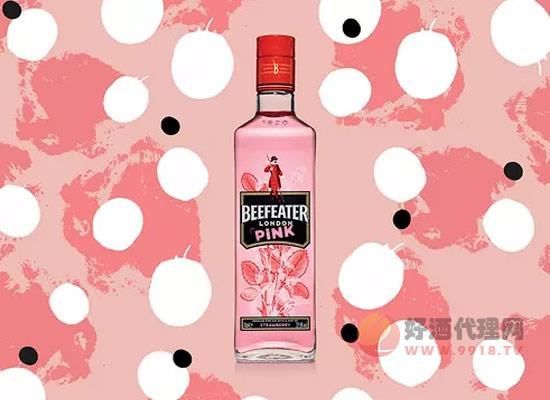 Beefeater Pink隆重上市,粉红金酒赚足消费者眼球