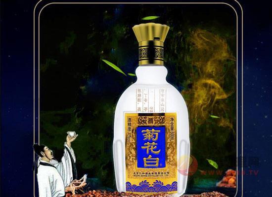 北京特产菊花白酒多少钱一瓶?仁和手工菊花酒价格