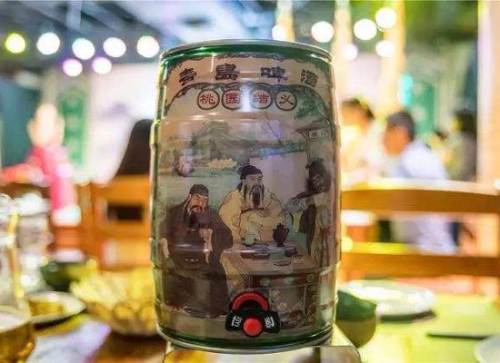 青島啤酒桃園結義口感怎么樣?5升桶裝更盡興