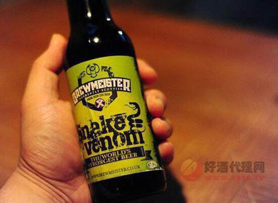 蘇格蘭蛇毒啤酒怎么喝?67.5度蛇毒啤酒的正確喝法