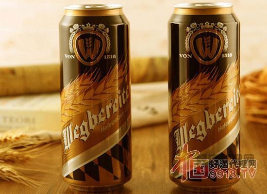 威力德小麦黑啤