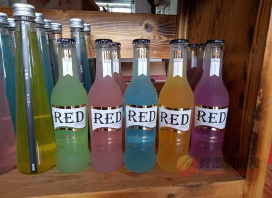 red鸡尾酒多少钱一瓶?red红魔女士鸡尾酒价格