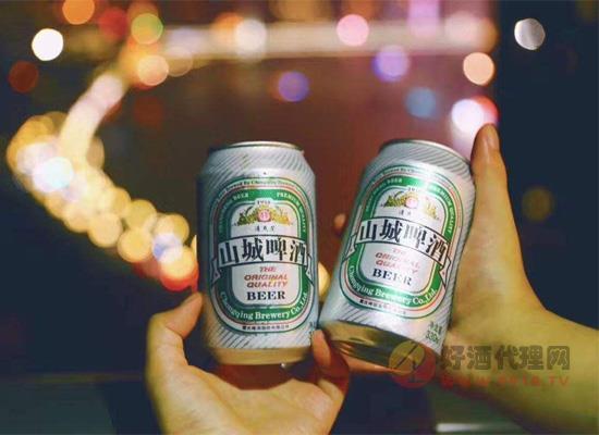 山城啤酒多少钱一箱?山城冰爽罐装多少钱